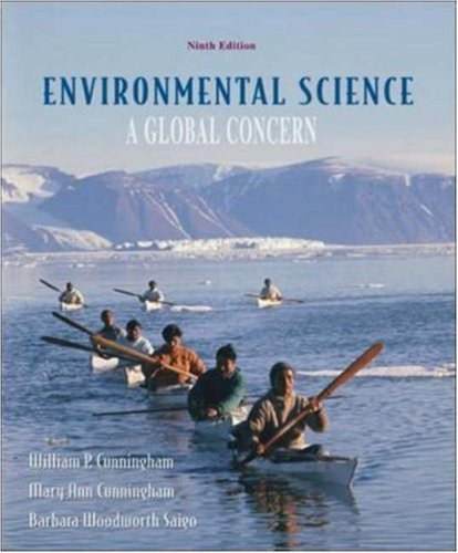 Environmental Science ,A Global Concern 9th edition (Environmental Science A Global Concern 9th Edition)