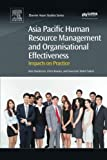 img - for Asia Pacific Human Resource Management and Organisational Effectiveness: Impacts on Practice book / textbook / text book