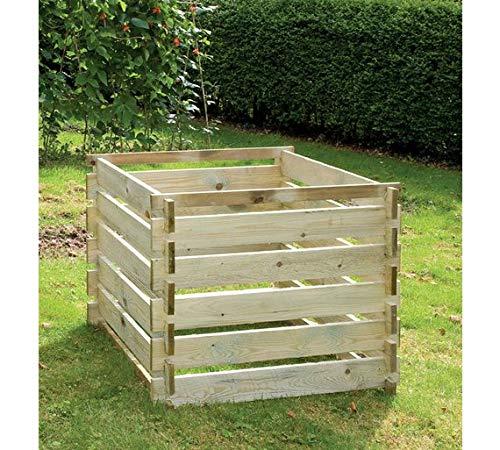 Wooden Garden Composter Waste Compost Bin Garden Outdoor Waste - Large 893 Litres Primrose