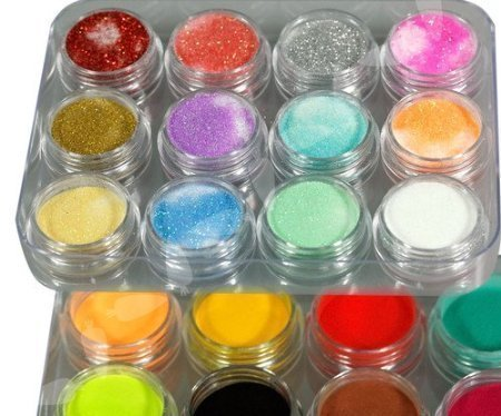 nail acrylic color powder - 2