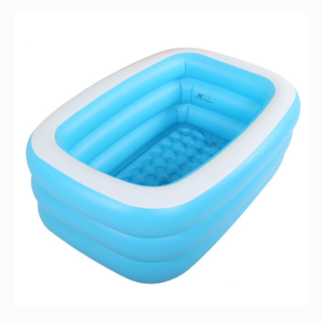 Practical portable child adult inflatable bathtub Inflated Swimming ...