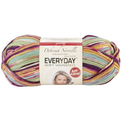 Everyday Anti-Pilling Soft Worsted Prints Yarn-Northern Lights by Premier Yarns