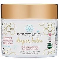 Diaper Rash Cream 2oz. USDA Certified Organic Soothing Diaper Rash Treatment ...