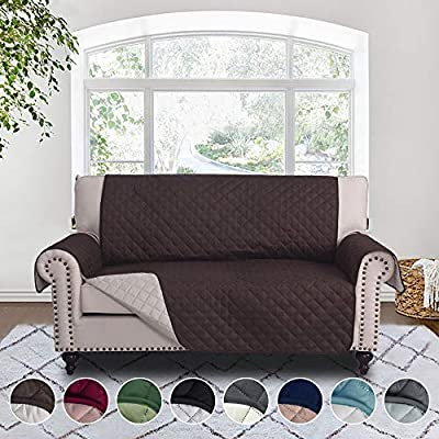 RHF Reversible Couch Cover, Sofa Cover, Couch Cover for Dogs, Couch Covers, Sofa Covers, Couch Slipcover, Sofa Slipcover, Sofa Protector, Furniture Protector, Machine Washable(${size}: ${color})