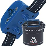 Our K9 Training Made Easy Anti Bark Collar Small Dog - Ultrasonic + Vibration + Rechargeable + Pain Free - Smallest Bark Collar on Amazon - No Shock and No Spiky Prongs. 3lbs+ (Sapphire)