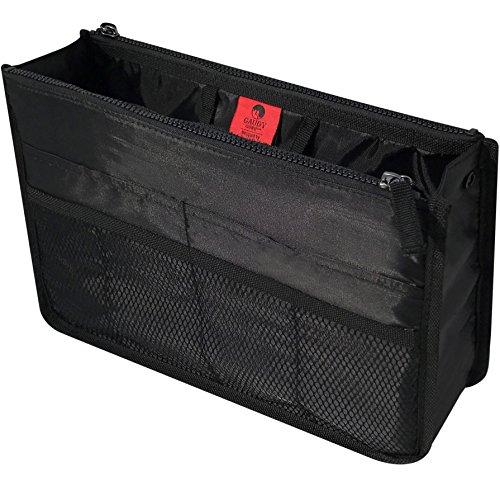 Gaudy Guru Clutter Control Handbag & Purse Organizer Insert, Large (22CM x 34CM x 10CM) Firm and Sturdy (5 Purse)