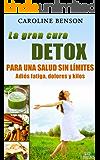 La gran cura detox. Adiós fatiga, dolores y kilos. 11 claves para una salud sin límites. (Salud natural)
