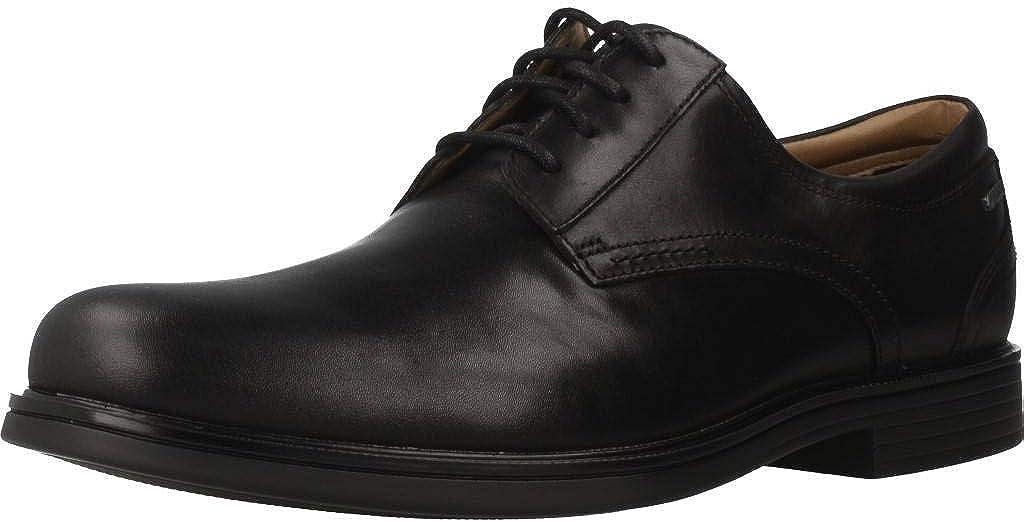 Zapatos para Hombre, Color Negro (Black), Marca CLARKS, Modelo Zapatos para Hombre CLARKS UN Aldric Tie GTX Negro