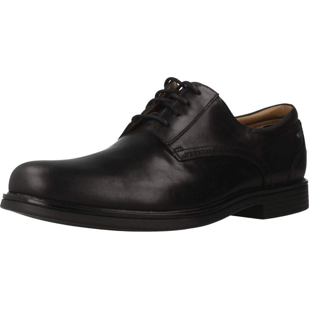 TALLA 43 EU. Zapatos para Hombre, Color Negro (Black), Marca CLARKS, Modelo Zapatos para Hombre CLARKS UN Aldric Tie GTX Negro