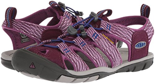 Pictures of KEEN Women's Clearwater CNX-W Sandal 1018499 Grape Wine/Grape Kiss 4