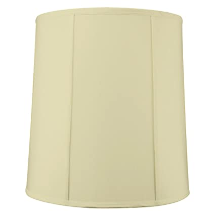 Homeconcept 141617dres egg shell shantung drum lampshade with brass spider fitter by home concept 14quot