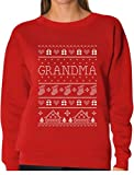 Best Grandma Sweatshirts - TeeStars - Grandma Ugly Christmas Sweater Funny Xmas Review
