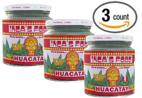 Inca's Food Huacatay Paste - Black Mint - 7.5 Oz - (3-Pack) by Inca's Food