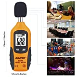 RISEPRO Decibel Meter, Digital Sound Level Meter 30