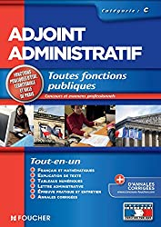 Adjoint administratif catégorie C. Concours Examen professionnel (Concours Fonction Publique)