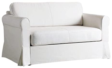 Incredible Buy The White Heavy Cotton Hagalund Sofa Cover Replacement Bralicious Painted Fabric Chair Ideas Braliciousco
