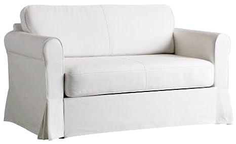 Super Buy The White Heavy Cotton Hagalund Sofa Cover Replacement Inzonedesignstudio Interior Chair Design Inzonedesignstudiocom
