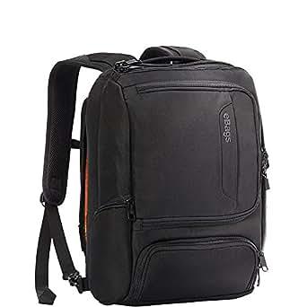 eBags Professional Slim Junior Laptop Backpack (Solid Black)