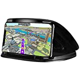MATEIN Car Phone Holder, Car Phone Cradle for 3-6.8 Inch Smartphone-Black