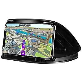Car Phone Holder, Car Phone Cradle for 3-6.8 Inch-Black