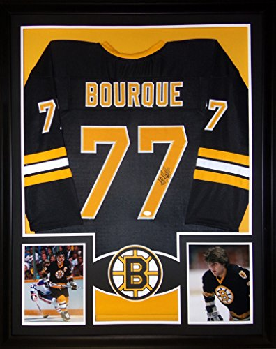 Ray Bourque Framed Jersey Signed JSA COA Autographed Boston (Ray Bourque Framed)