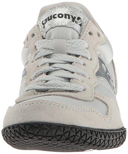 Saucony Originals Damen Kugel Sneaker Grau / Silber