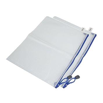 oaimyy a3-plastic cremallera Pen Archivo Documento carpetas ...