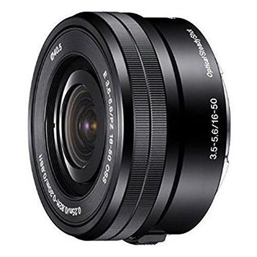 Sony SELP1650 16-50mm F/3.5-5.6 OSS Power Zoom Lens Black Bulk Packaging , International Version (No Warranty)