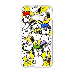 Snoopy for HTC One M7 Phone Case Cover S7124