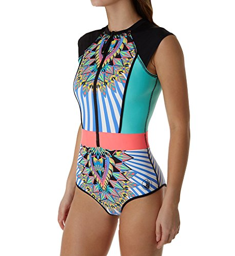 Body Glove Women's Look At Me Stand Up One-Piece Paddle Suit Multi Small by Body Glove