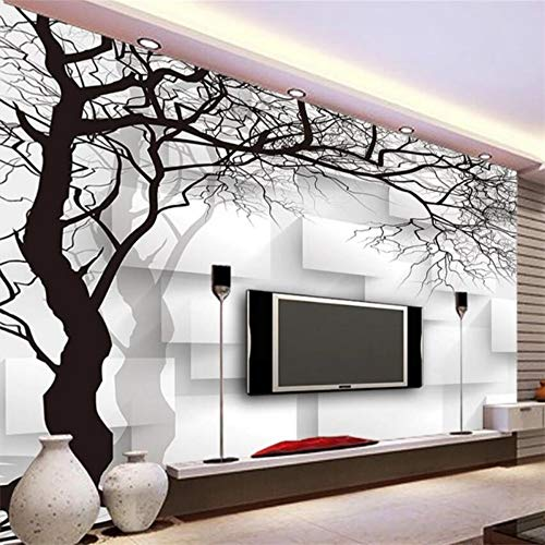 Murals,Custom 4D Wallpaper Stereo Abstract Series Abstract Tree Square Wall Decoration Art Print Wall Painting Poster Picture Photo Hd Print For Living Room Bedroom Hotel Cafe Home Decor Silk Mural 29