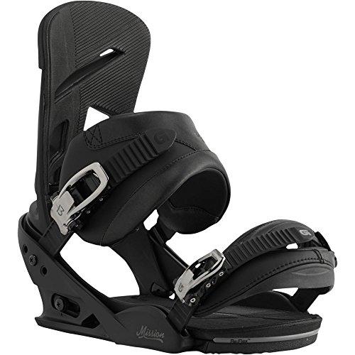 Burton MIssion Snowboard Bindings Black Size Medium US 8-11