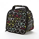 Fit & Fresh Kids' Gabby Insulated Lunch Bag, Black