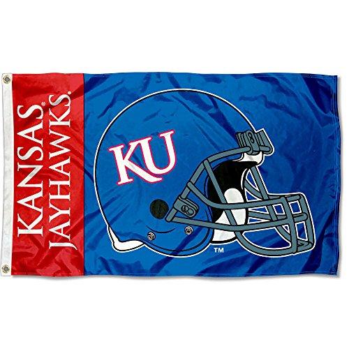 - College Flags and Banners Co. Kansas Jayhawks Helmet Flag