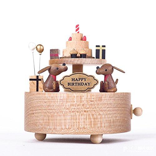 日本初の B01HBJ92VAbestsunny誕生日ケーキギフト木製Musicalボックスyb028 B01HBJ92VA, ヒガシシラカワグン:52d79884 --- arcego.dominiotemporario.com