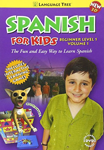 Spanish for Kids:  Learn Spanish Beginner Level 1