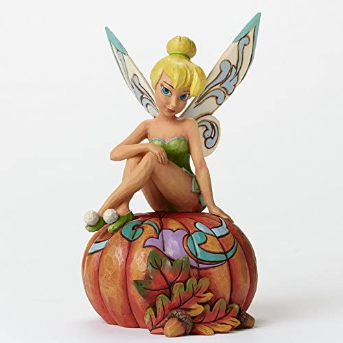 Jim Shore for Enesco Disney Traditions by Tinker Bell Fall Figurine, 7.09