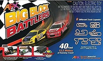AFX 21004 HO Slot Car Race Set MegaG+ Tri Power Mega