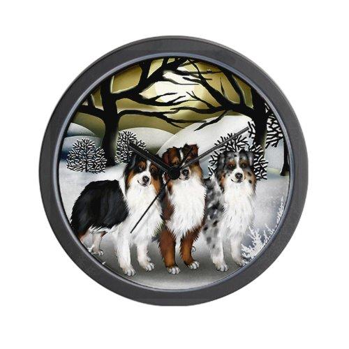 Australian ShepherdsWall Clock