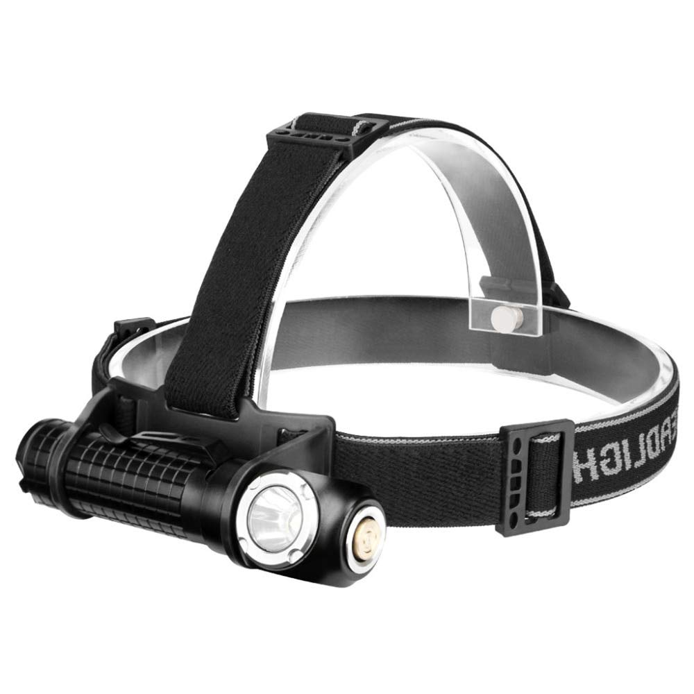 Headlamp Flashlight LED Head Light Flashlight 18650 USB Rechargeable Waterproof Flashlight with Zoomable Work Light 2 in 1 Bicycle Light for Running, Camping, Reading, Fishing, Hunting