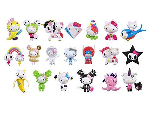Publisher Services Inc PSI TDTYHKFNZ random blind box collectible Tokidoki Tokidoki X Hello Kitty Frenzies