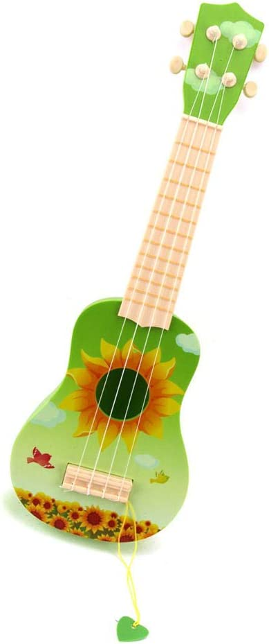 ADATEN Guitarra Niño Ukulele 21 Inch Cuatro Cuerdas Bajo Inyección ...