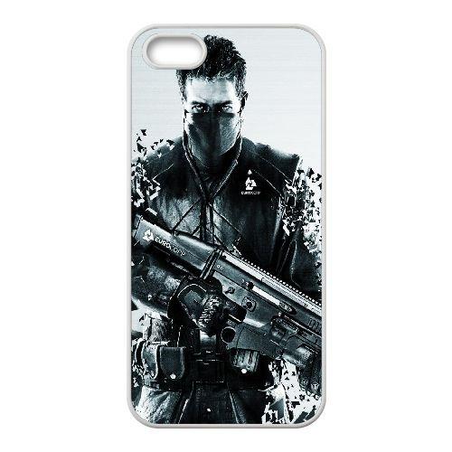 Syndicate Ea Eurocorp Shuter 103585 coque iPhone 4 4s cellulaire cas coque de téléphone cas blanche couverture de téléphone portable EEECBCAAN08965