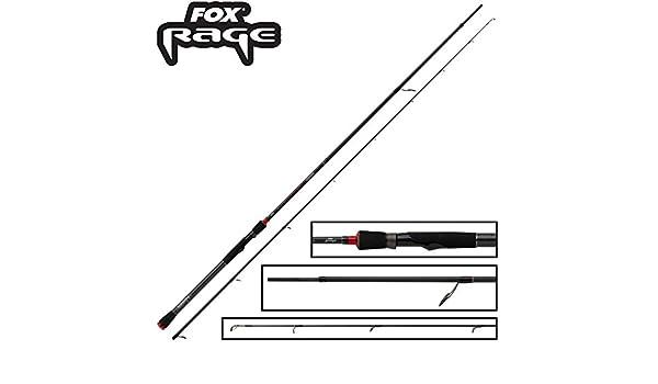 Fox Rage Prism Predator Spin Rod 270 cm 10 – 35 g – Caña de pescar ...