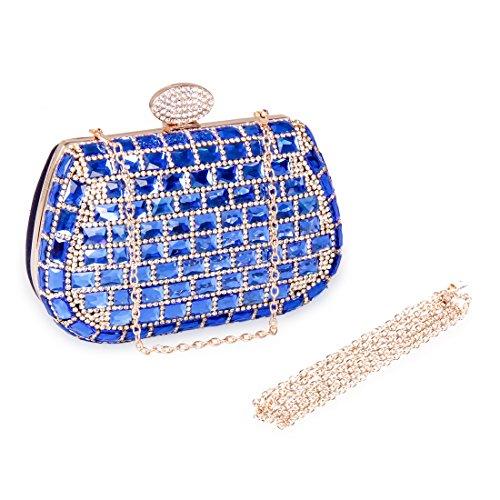 ECOSUSI Dazzling Rhinestone Evening Handbags
