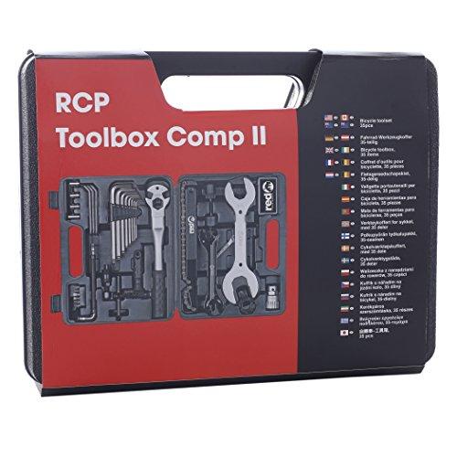 Red Cycling Products Toolbox Comp II Werkzeugkoffer 35 tlg. 2016 Werkstattausrüstung