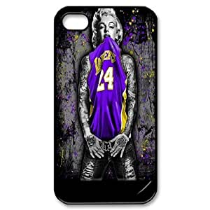 JamesBagg Phone case Super Star Marilyn Monroe Protective Case For Iphone 4 4S case cover Style 2