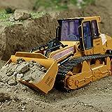 RC Bulldozer, ❤️Elaco 1:12 RC Excavator Shovel Remote Control Construction Bulldozer Truck Toy Light About 36x16x15cm/14.17x6.3x5.9in