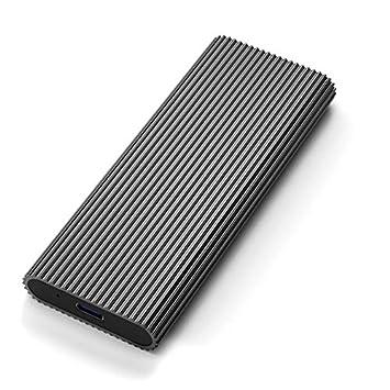 Goldyqin M.2 NVME Caja de Disco Duro móvil USB3.0 SSD Caja de ...