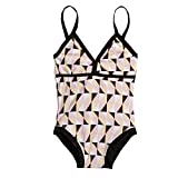 Arshiner Little Girls' Bow Tie One Piece Swimsuit Bathing Suits